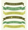 Earth Day Banners Collection vector image