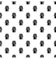 bathrobe pattern vector image