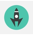 Launch icon vector image