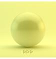 Sphere 3D vector image