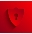 modern flat shield background Eps 10 vector image vector image