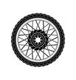 Wheel Icon Wheel Icon art vector image