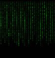 creative of stream of binary vector image