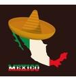 Mexico design Culture icon Colorful vector image
