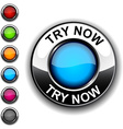 Try now button vector image