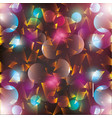 abstract geometrical round textured bright vector image