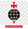 Global Guard Eps Icon vector image