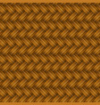 brown wicker pattern vector image