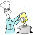 Cooking Man vector image vector image