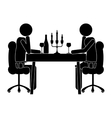 dining icon image vector image