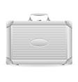 metallic briefcase 01 vector image vector image