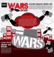 War concept EPS10 vector image
