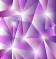 Geometric pattern with triangles background vector image vector image