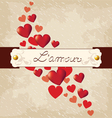 Romantic background Valentines Day vector image