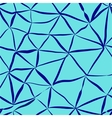 Network blue seamless pattern vector image
