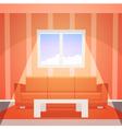 Room with window vector image