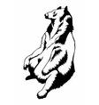 bear041 vector image vector image