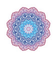 mandala decorative round ornament anti-stress vector image