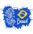 Brazil sport art vector image
