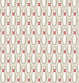 Bowling Pin Tile vector image