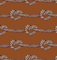 Knot seamless pattern vector image