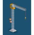 crane isometric design vector image