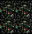 seamless asparagales pattern vector image