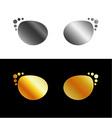 Optic shop logo vector image