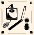 vintage razors vector image