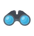 Binoculars spy glasses vector image