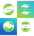 set of logo design templates and symbols vector image