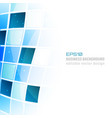 business abstract background with square pattern vector image