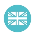 flag england isolated icon vector image