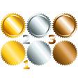 Games medals or labels-set1 vector image