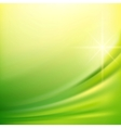 Green silk backgrounds vector image vector image