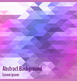 abstract geometric background bright polygon and vector image
