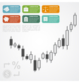forex infographic vector image
