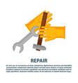 house plumbing plumber repair tools icons vector image