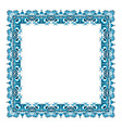 square frame from abstract element vector image