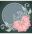 Colored floral backgroundFloral background 16 5 vector image