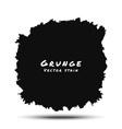 Black Watercolor Grunge Splatter vector image