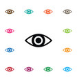 isolated look icon eye element can be used vector image
