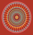 fractal6 vector image vector image