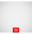 hexagons seamless white background vector image