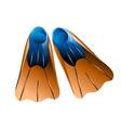 flipper vector image