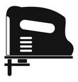 pneumatic gun icon simple vector image