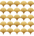 abstract seamless geometric pattern with gold vector image