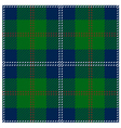 Blue Scottish Seamless Tartan Plaid vector image