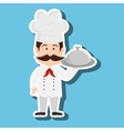 chef character design vector image