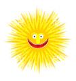 Sun smile Summer Yellow Sun Symbol summer vector image